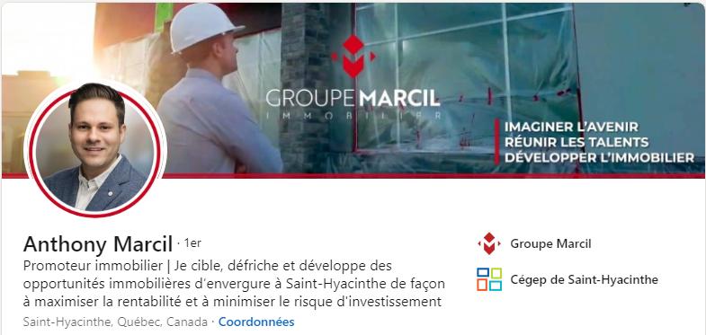 Anthony Marcil - Groupe Marcil
