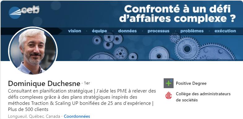 Dominique Duchesne - CEB Services Conseils
