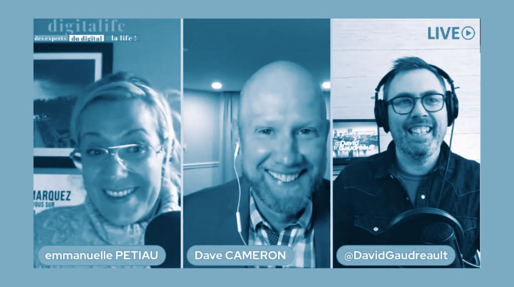 Collaboration - DigitaLife - Dave Cameron, Emmanuelle Petiau et David Gaudreault