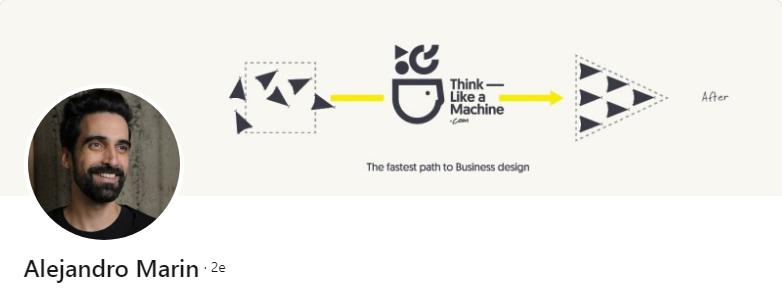 Alejandro Marin - 50 bannières LinkedIn aux designs exceptionnels pour vous inspirer