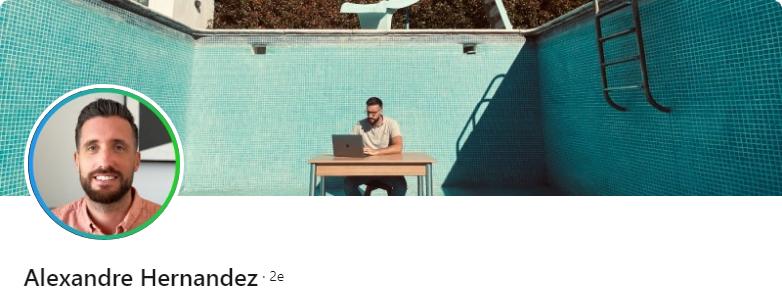 Alexandre Hernandez - 50 bannières LinkedIn aux designs exceptionnels pour vous inspirer