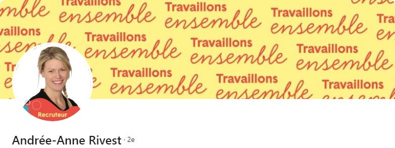 Andrée-Anne Rivest - 50 bannières LinkedIn aux designs exceptionnels pour vous inspirer