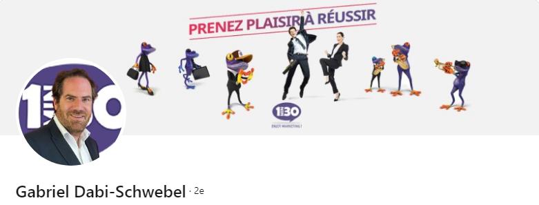 Gabriel Dabi-Schwebel - 50 bannières LinkedIn aux designs exceptionnels pour vous inspirer
