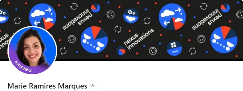 Marie Ramires Marques - 50 bannières LinkedIn aux designs exceptionnels pour vous inspirer