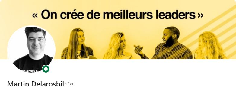 Martin Delarosbil - 50 bannières LinkedIn aux designs exceptionnels pour vous inspirer