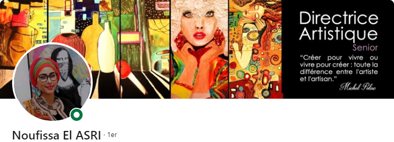 Noufissa El Asri - 50 bannières LinkedIn aux designs exceptionnels pour vous inspirer