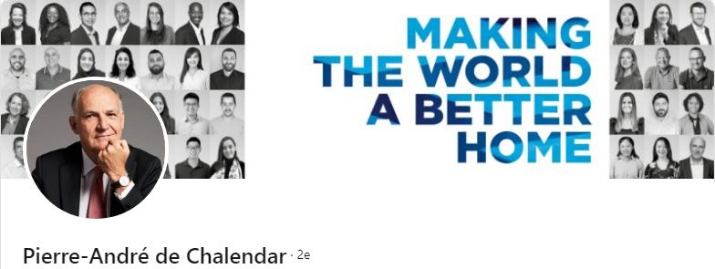 Pierre-André de Chalendar - 50 bannières LinkedIn aux designs exceptionnels pour vous inspirer
