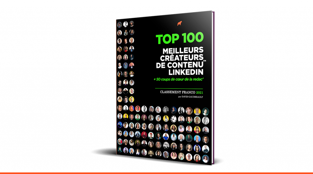 TOP 100 meilleurs créateurs de contenu LinkedIn